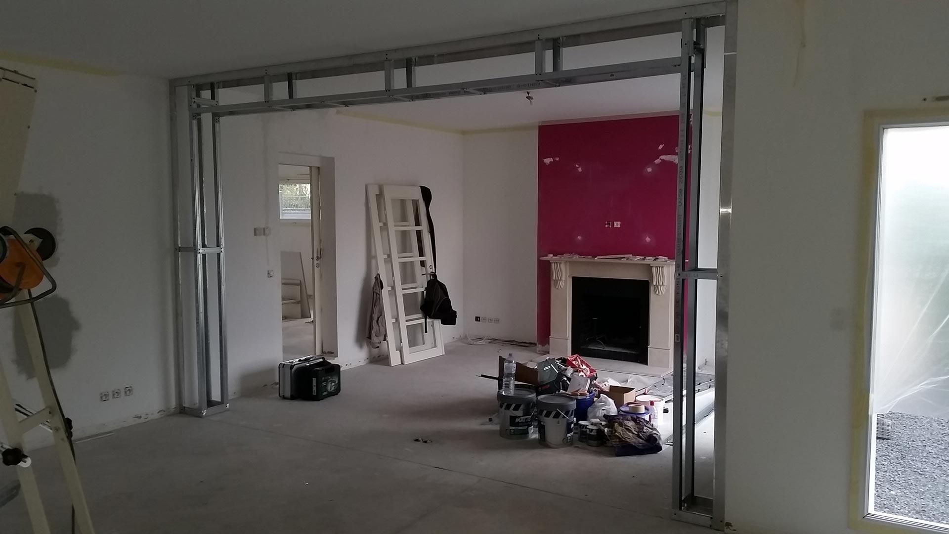 House renovation projects france