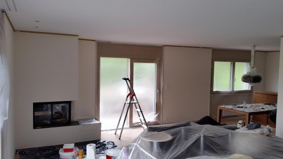 Interior House Home Painting Savigny Vaud