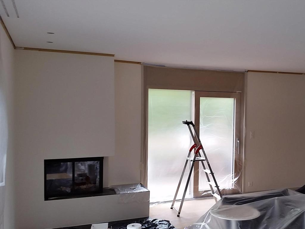 Painting service interior painting geneva lausanne - Interior exterior painting services set ...